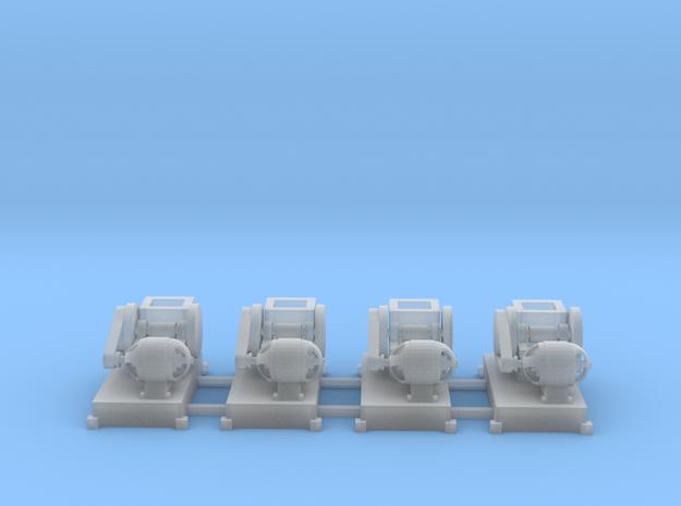 Steinbrecher mit E-Motor-Antrieb (V10) 4erSet TT 1 in Smooth Fine Detail Plastic