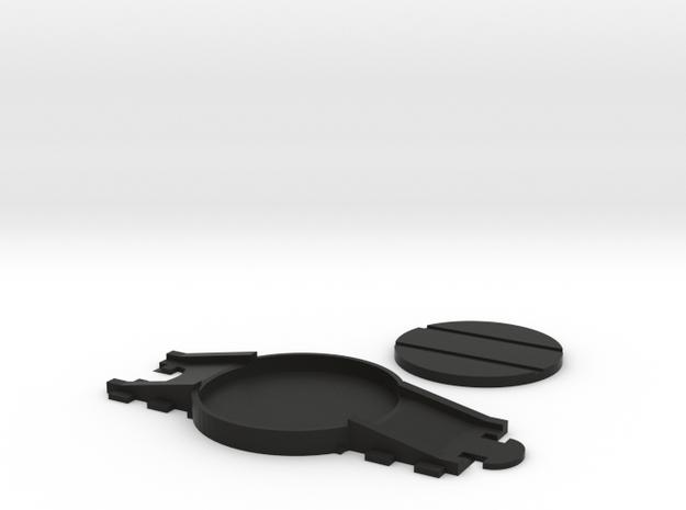 MINIS Turntable  in Black Natural Versatile Plastic