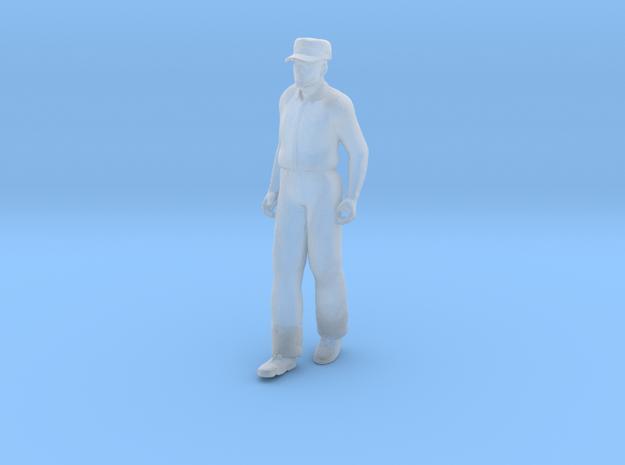 Stretcher Bearer Walking: Hands Down in Smoothest Fine Detail Plastic: 1:64 - S