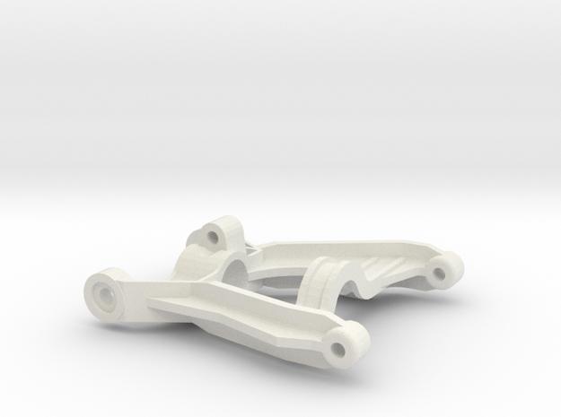 tamiya egress front left arm in White Natural Versatile Plastic