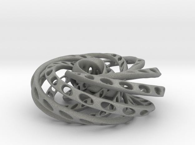Nested Mobius strips inside torus in Gray PA12
