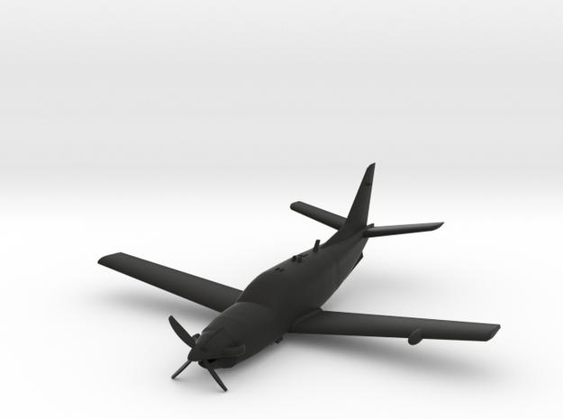 Socata TBM 700 in Black Natural Versatile Plastic