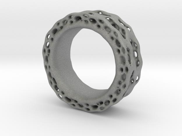 Organixz Ring 4 in Gray PA12