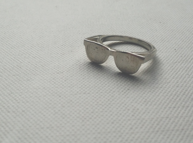 Endless Summer Ring in Polished Silver: 7 / 54