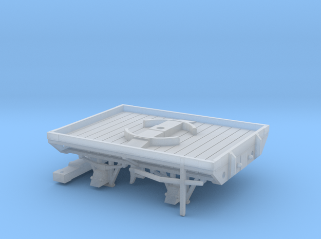 GWR W&LLR Section Timber Bolster in Smoothest Fine Detail Plastic