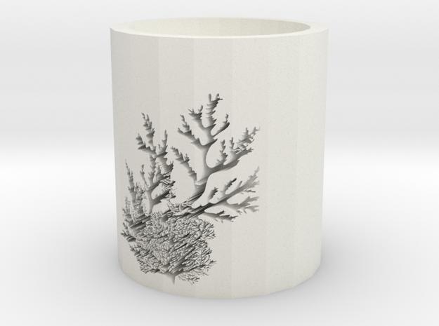 Coral in White Natural Versatile Plastic