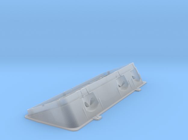 Volvo Panel or HIC panel one sixth scale in Smooth Fine Detail Plastic