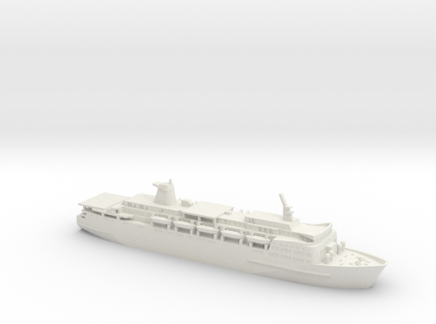 1/700 MV Norland in White Natural Versatile Plastic