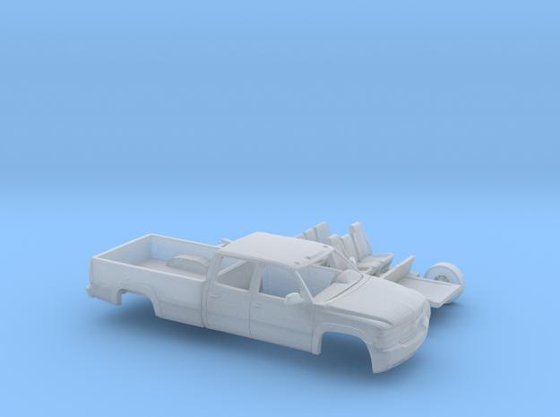 1/160 1999-02 Chevy Silverado 2500 CrewCabLongBed  in Smooth Fine Detail Plastic