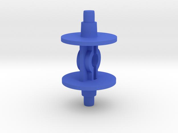 Microtron Hook Wheel in Blue Processed Versatile Plastic