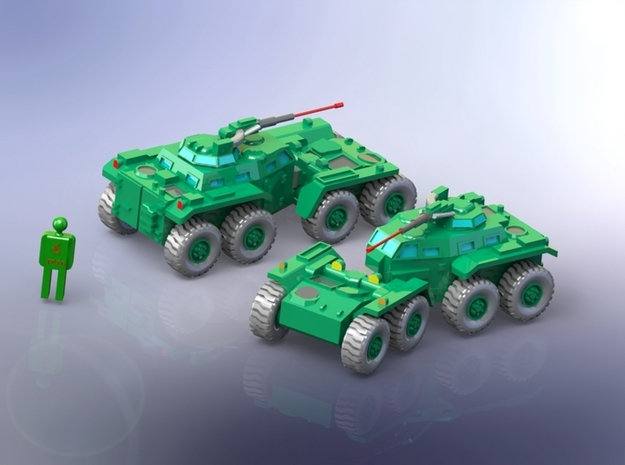 US M808 Twister Scout Vehicle 1/220 Z-Scale