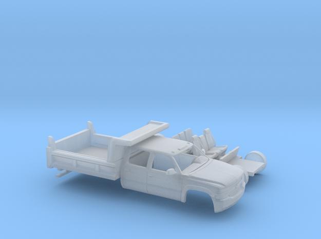 1/160 1999-02 Chevy Silverado CrewCab Dump Kit in Smooth Fine Detail Plastic