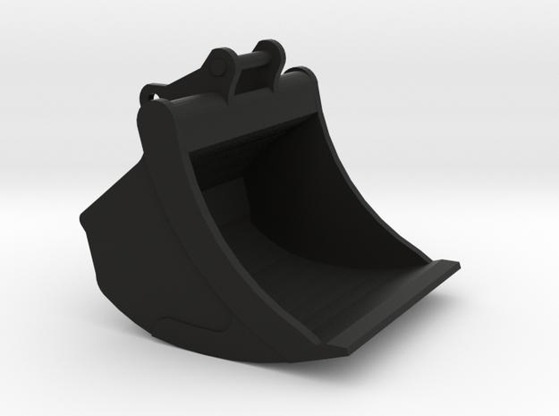Miniatuur Dieplepel bak 1,30m breed voor 20 tons k in Black Natural Versatile Plastic