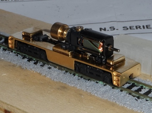 NS 2000 chassis in Natural Brass
