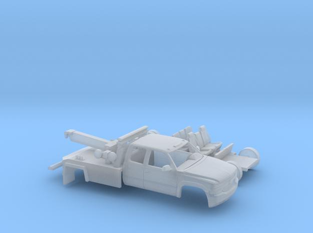 1/87 1999-02 Chevy Silverado EXTCab Wrecker Kit in Smooth Fine Detail Plastic