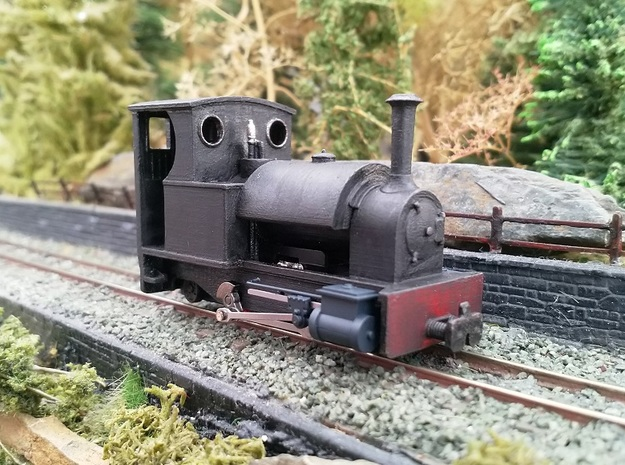 Kerr Stuart Stanhope 4mm Scale PQR Condition in Smooth Fine Detail Plastic