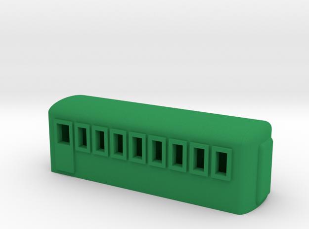 Example Coach in Green Processed Versatile Plastic