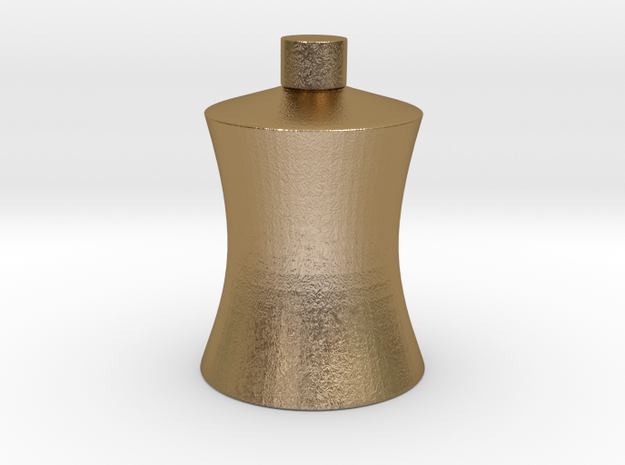 CHUAN'S Fat Bottle in Polished Gold Steel