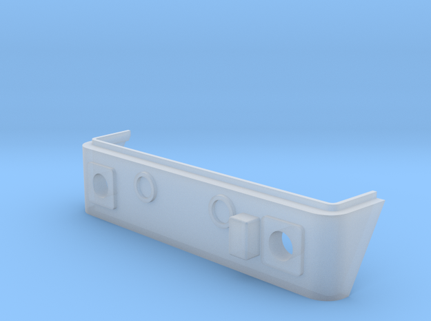 Replacement bufferbeam for Dublo E3002 model. in Smooth Fine Detail Plastic