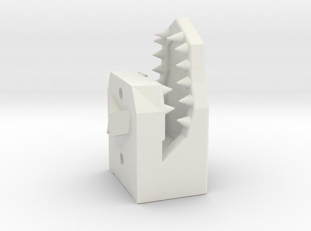 Snapdragon kaak in White Natural Versatile Plastic
