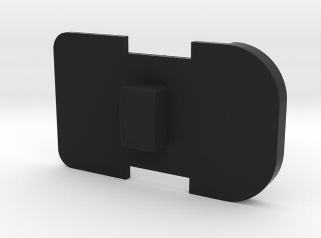 SIG P320 Magazine Spring Plate - Square in Black Natural Versatile Plastic