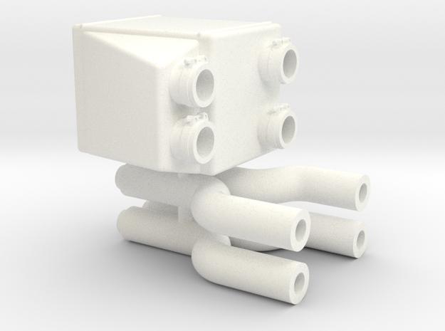 interior 1/12 intercooler v1 in White Processed Versatile Plastic