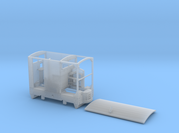 7mm Caravan Simplex body in Smooth Fine Detail Plastic