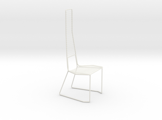 Leisure chair in White Natural Versatile Plastic