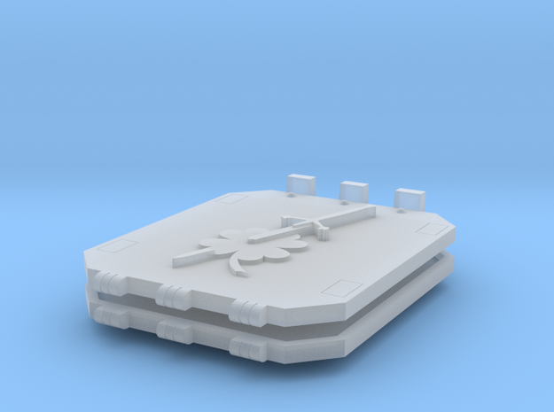 Commission 41 God-Hammer Tank doors in Smooth Fine Detail Plastic
