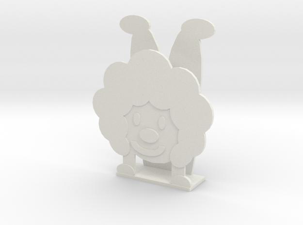 Business card rack in White Natural Versatile Plastic