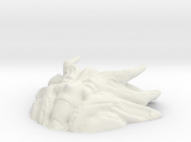 Earth Goddess Short Version in White Natural Versatile Plastic
