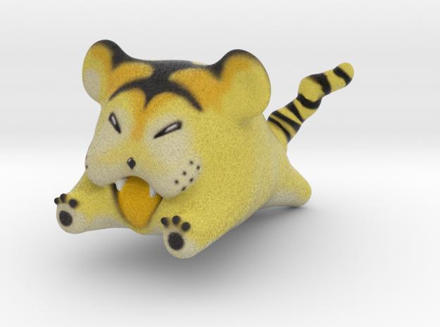 Tiger Hamster Pokemon  in Natural Full Color Sandstone