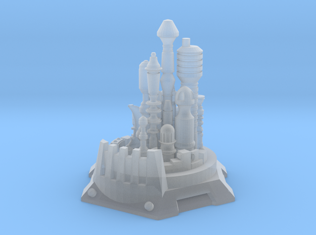 Bottle City of Kandor in Smooth Fine Detail Plastic