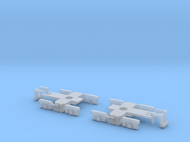 SWP68 Bogie-frame in Smooth Fine Detail Plastic