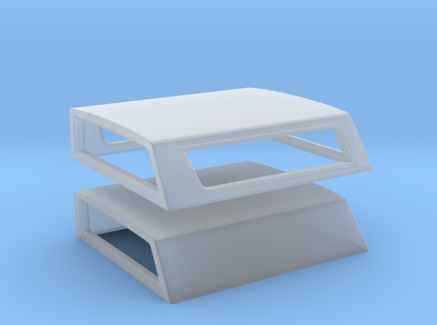67-72 Chevy C-10 Long Bed Topper Set in Smoothest Fine Detail Plastic