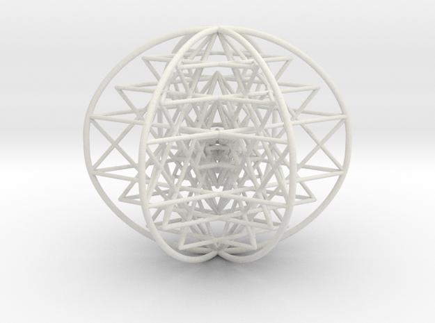 3D Sri Yantra 6 Sided Symmetrical Large