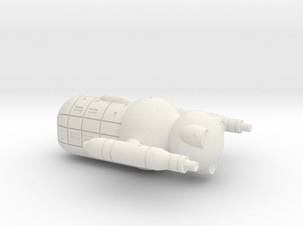 UES Olympus Mons (1/3125 Scale) in White Natural Versatile Plastic