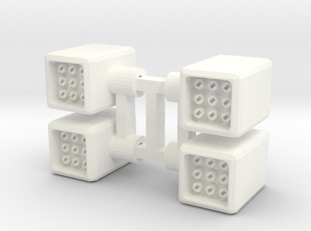 Set of Four 5mm Missle Pods