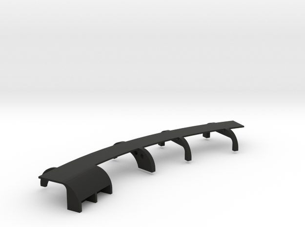 Ventress Chassis Side 2  in Black Natural Versatile Plastic