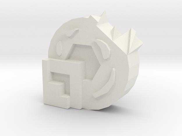 Fillet storage box in White Natural Versatile Plastic