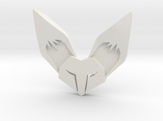 Fennec3D.com Fox Logo Fridge Magnet in White Natural Versatile Plastic