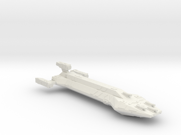 3125 Scale Hydran Iroquois New Heavy Cruiser CVN in White Natural Versatile Plastic