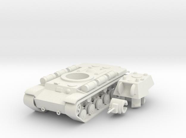 1/100 KV-8 in White Natural Versatile Plastic