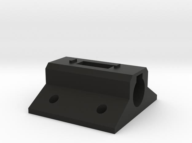 Laser Pointer Mount in Black Natural Versatile Plastic
