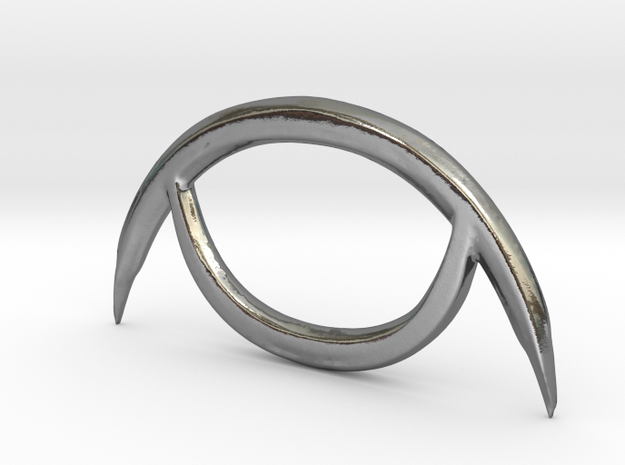 Alchemical Silver 01 (Loop Available) in Polished Silver: Small