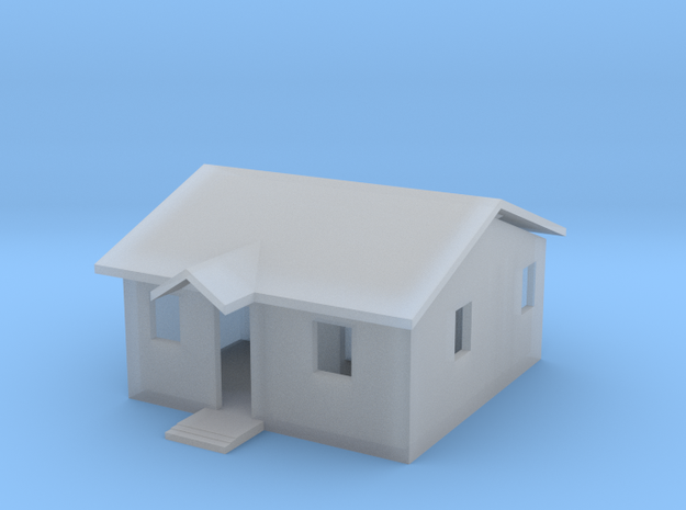 LakeShore House with Roof Top in Smooth Fine Detail Plastic
