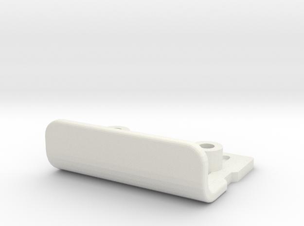 tamiya astute bumper in White Natural Versatile Plastic