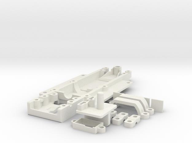 GRC_GoMustang in White Natural Versatile Plastic