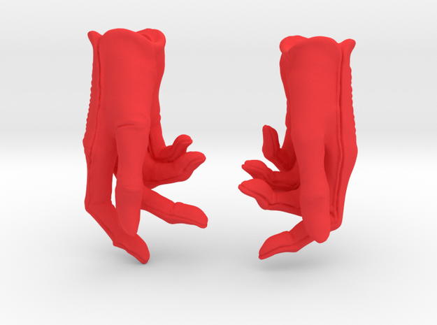 Phone Gloves for PashaPasha New York in Red Processed Versatile Plastic: Small