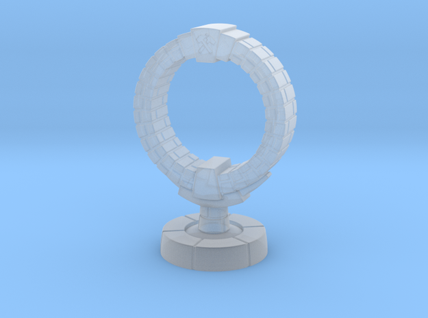 Objective - Masonic Hoop in Smooth Fine Detail Plastic